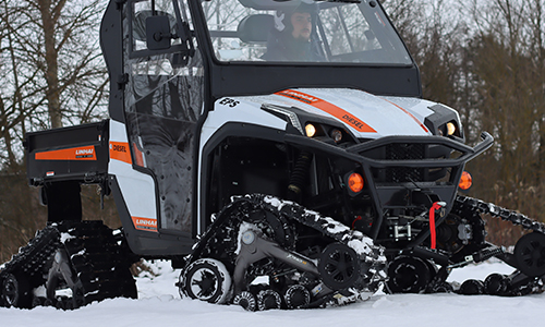 Winter test - Linhai UTV 1100 Diesel