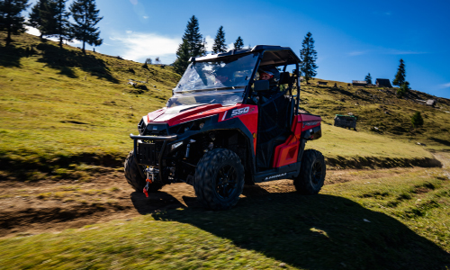 Expedition Romania Linhai T-Boss 550 EPS