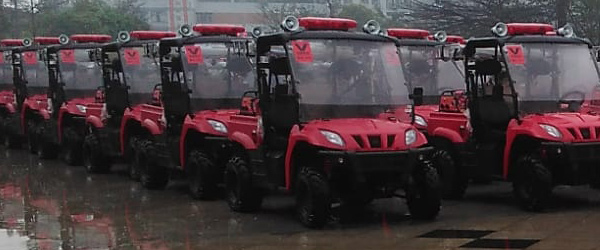 Linhai UTV for Guangzhou City Rescue Services