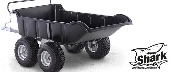 GARDEN 4Wheel ATV tipper with higher load capacity