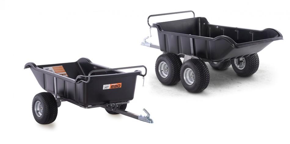 ATV trailer dump cart Garden 680