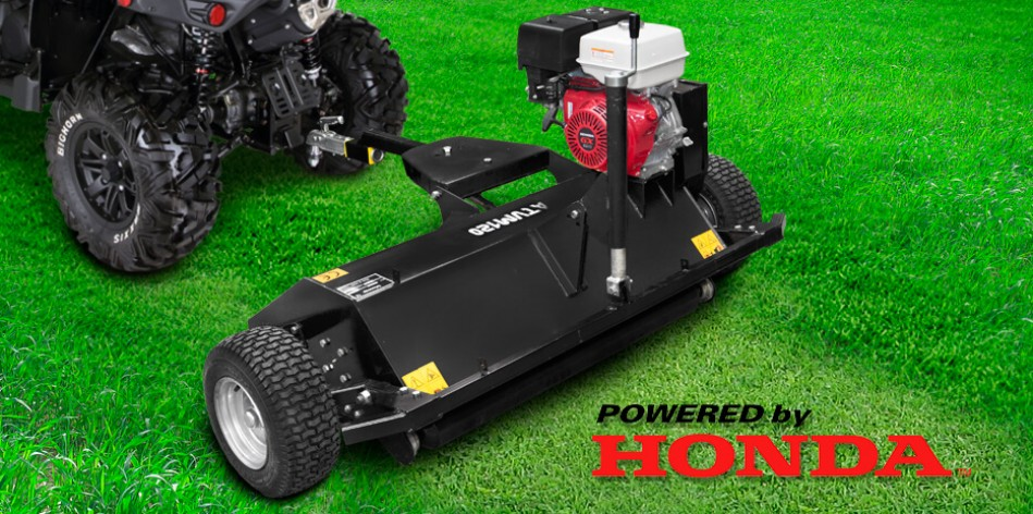Flail Mower Shredder/Mulcher - Honda engine