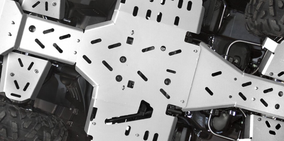 Aluminum Chassis Skid Plates